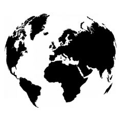 World map globe sketch vector sketch lean pinterest map globe stickers carte du monde gumiabroncs