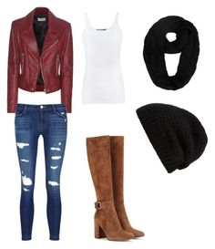 """""""Off Roading"""" by pjcamg07 ❤ liked on Polyvore featuring Balenciaga, Vince, J Brand, Gianvito Rossi and Rick Owens"""