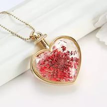 Мода новые украшения романтический прозрачный хрусталь формы сердца плавающ...