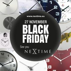Be smart, get your favourite clock online today as we have this special sale! Happy Black Friday! http://world.nextimestore.com/prices-drop