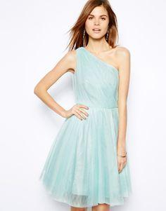 Coast Poppy Short Dress with Full Skirt