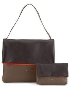 af603ce600e3 Celine  All Soft  Leather Shoulder Bag Soft Leather