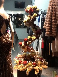Xmas tree in bojo nicosia shop..