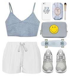 """Sem título #638"" by andreiasilva07 ❤ liked on Polyvore featuring Anya Hindmarch, Elizabeth and James, adidas, Casetify, Fresh and Eve Lom"