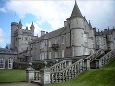 Balmoral Castle, Also Known as 'Royal Deeside' - Aberdeenshire - Scotland