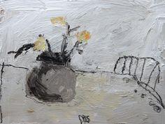 David Pearce, Small Paintings Paintings Stickback Chair Painting