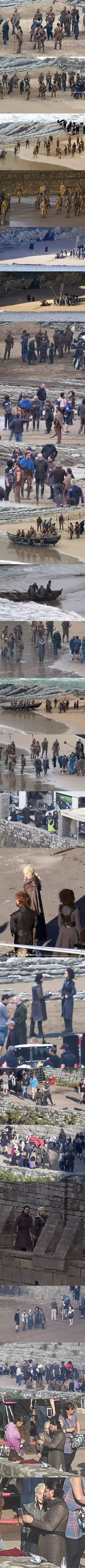 More Set Images From Game of Thrones Season 7 [Spoilers]