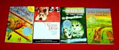 4 Chapter Books Newbery Award Guided Level R S V 4th 5th 6th 7th Grade Teachers