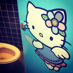 Hello Kitty #toilet
