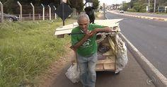 Catador de recicláveis é eleito vereador na 1ª eleição que disputa