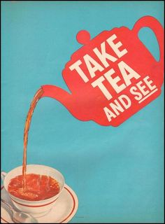 Advertisement for tea by The Tea Council1951