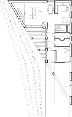 Triangle House by KWK Promes - L1 PLAN.  click 4 other levels plan.  (slide 16, 17 & 18. rest r pics.)
