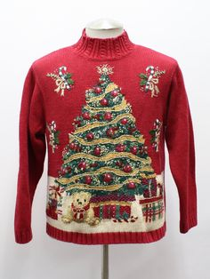 ugly christmas sweater -
