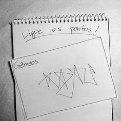Como cada signo ligaria dois pontos em uma folha | Catraca Livre