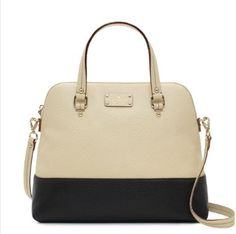 New Kate Spade bag on its way to my house! I'm so excited! I'm in love with this purse!