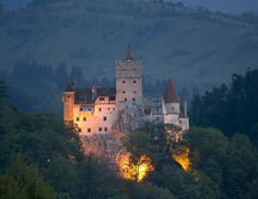 The world's very first vampire crush and Romania's most enduring celebrity, Dracula has a tremendous amount of charisma for someone who never technically existed. People travel from all over the world to go on vampire-inspired tours of the Carpathian mountains, Romanian villages and the castle (pictured) where the real-life inspiration for Dracula once lived.