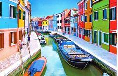 みなさんブラーノ島ってご存知ですか?ブラーノ島はイタリア北東部ヴェネチアから水上バスで行ける島です。その島の魅力はまずカラフルなお家。こんな島本当にあるの?と驚いてしまうくらいカラフルなんです♡他にもブラーノ島はレース刺繍・魚介料理などが有名なんです。この記事をみたらあなたもきっとブラーノ島に行きたくなっちゃうかも○