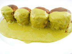 Calabacines rellenos de estofado de buey Reserva online para comer carne. EligeTuPlato.es