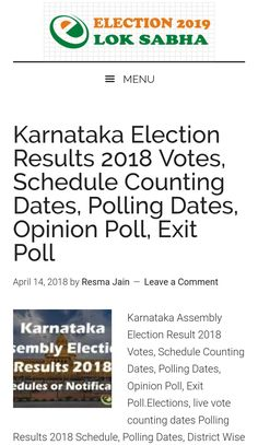 9 Best Election 2019 images | Opinion poll, Exit poll