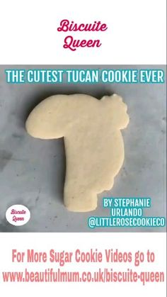The cutest Tucan Cookie made by littlerosecookieco The cutest Tucan Cookie made by littlerosecookieco Biscuite Queen biscuitequeen Biscuite Queen The cutest Tucan Cookie ever made by Stephanie nbsp hellip videos versieren Summer Cookies, Fancy Cookies, Cut Out Cookies, Iced Cookies, Cute Cookies, Sugar Cookie Royal Icing, Cookie Frosting, Cookie Videos, Cupcake Videos