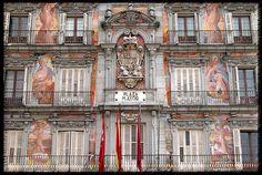 Plaza Mayor, Madrid, Spain. Please please!! Incredible.