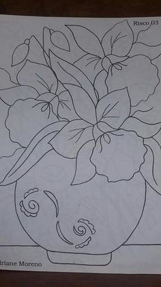 Janja Croche Pintura Em Tecido