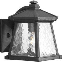 Progress Lighting P5906-31 Mac Collection 1-Light Wall Lantern, Black by Progress Lighting. $67.21