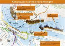 Koningsvaart Amsterdam en zwaaiplekken