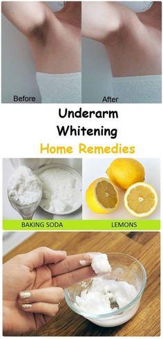 Underarm Whitening Home Remedies