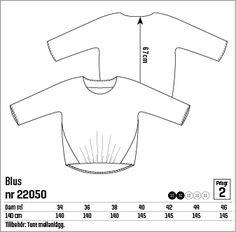 Bluse, Gr. 34 - Stoff & Stil