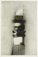 Friedrich Meckseper - Composition - gravure 1979