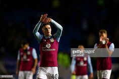 Jack Grealish of Aston Villa applauds the fans after the Sky Bet Championship match between Brighton Hove Albion and Aston Villa at Amex Stadium on. Brighton & Hove Albion, Brighton And Hove, Jack Grealish, Aston Villa, Soccer, Abs, England, Futbol, Crunches