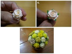 Cara Membuat Bunga Mawar dari Sedotan Plastik