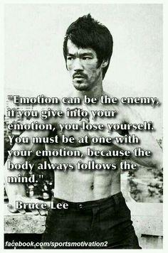 Emotion - Bruce Lee