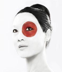 Modern Geisha Body Art.