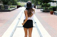Floppy hat | stylelogix.com #texas #floppyhat #summerfashion
