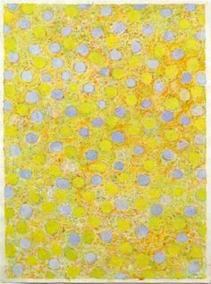 Keiko Hara - Works on paper - Space-M-Yellow
