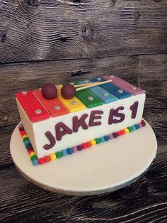Xylophone cake www.facebook.com/Lisashomebaking