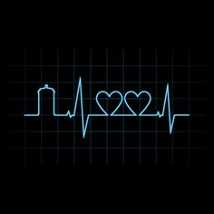The heartbeat of a Whovian. That might be what it looks like, but I'm pretty sure it sounds like the theme song. Just saying.
