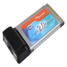 SYBA IO Card SD-PCMU2-VIA PCMCIA 2-Port USB 2.0 Cardbus Retail Best Compatibility by Syba. $24.19. OHCI specification for USB Rev 1.0a compliant; EHCI specification for USB Rev 0.95 compliant; Data transfer rate: High speed 480Mbps, Full speed 12Mbps and Low speed 1.5Mbps.