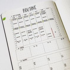 The best way to become more productive is writing our #routine list. Here I put my week, month and annual routine log, in which I'm going to write what I have to do every day of the week, every week of the month or every May/June/July etc of the year. Hope you'll find it useful! ✏️