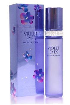 """Violet Eyes"" perfume by Elizabeth Taylor.  I never liked ""White Diamonds"" but Violet Eyes is a fresh, pretty day fragrance that lasts and lasts."