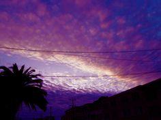 Ocean district, SF sun down