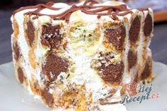 Famózní smetanový dort s Eclair kuličkami Cheesecakes, Tiramisu, Ethnic Recipes, Paris City, Facebook, Patisserie Paris, Eat, Food, Sweet Treats
