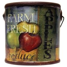 A Cheerful Giver Juicy Apples Farm Fresh Candle - 6 oz.