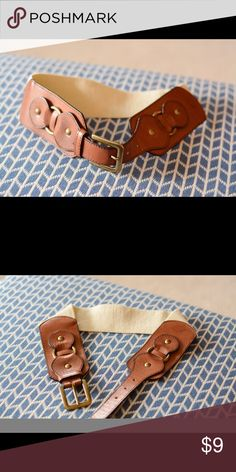 High waisted belt Beautiful classic high waisted belt! Never wore it so it's perfect Accessories Belts