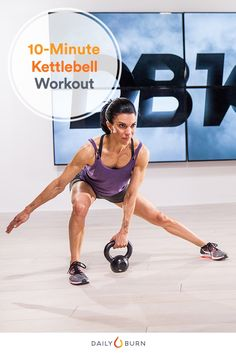 The versatile kettlebellcan test your strength, endurance, and core balance all in one quick and simple workout session.