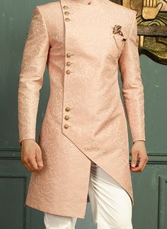 Sherwani - Huge collection of designer Sherwanis for men online. Buy the latest designer Sherwanis for wedding, engagement, and party with the best prices at Cbazaar. Sherwani For Men Wedding, Wedding Dresses Men Indian, Wedding Dress Men, Mens Sherwani, Wedding Attire, Mens Indian Wear, Mens Ethnic Wear, Indian Groom Wear, Nigerian Men Fashion