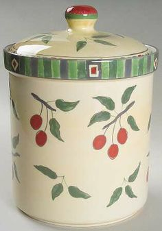 cherries canister