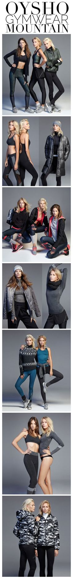 OYSHO Gymwear Mountain | The House of Beccaria~